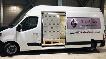 colchester large van courier
